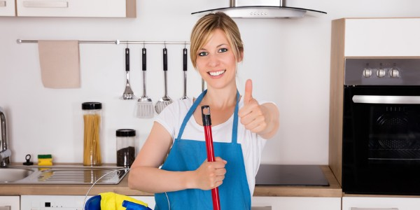 Recurring maid services